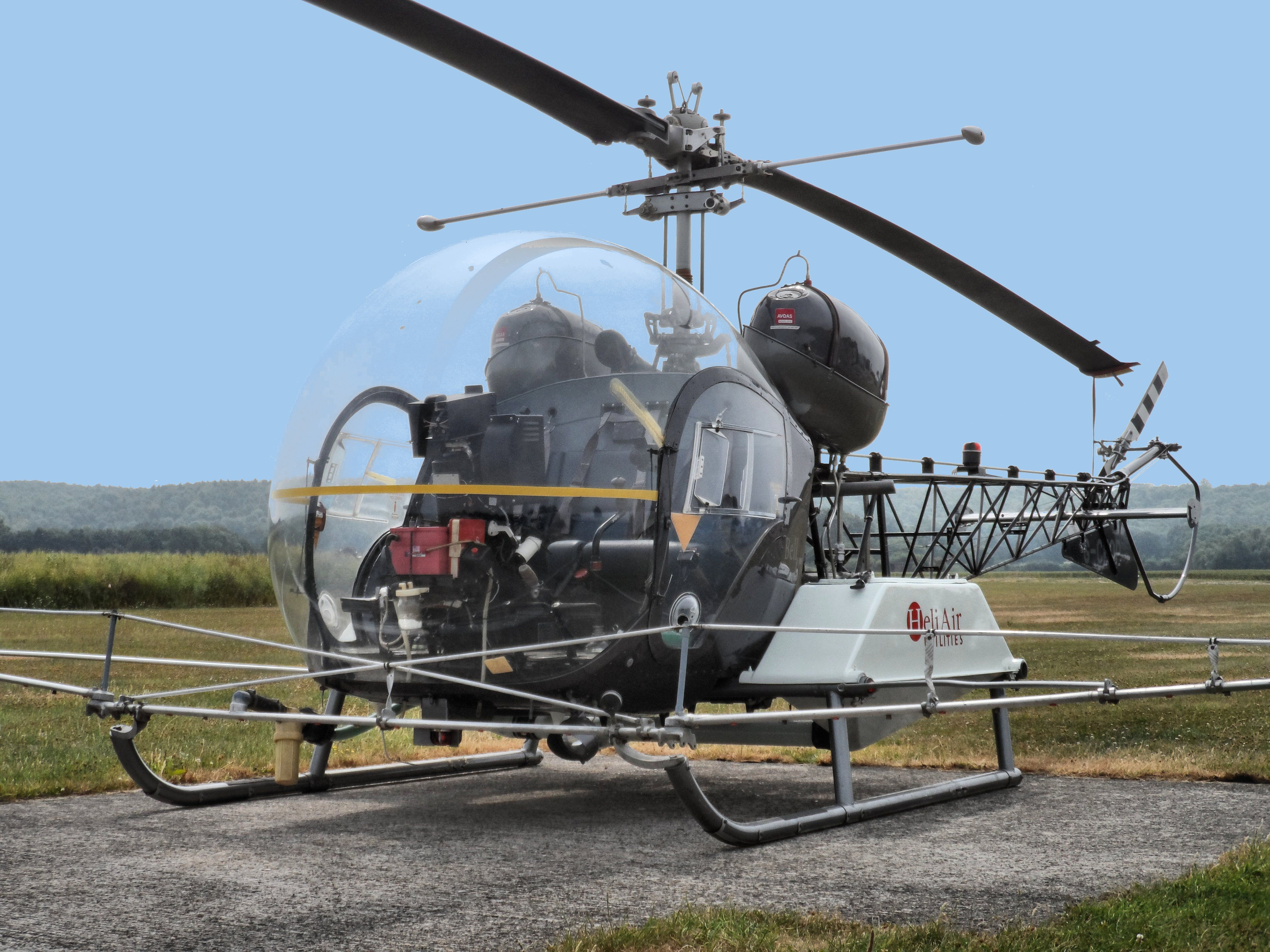 Helicopter Aerial Application