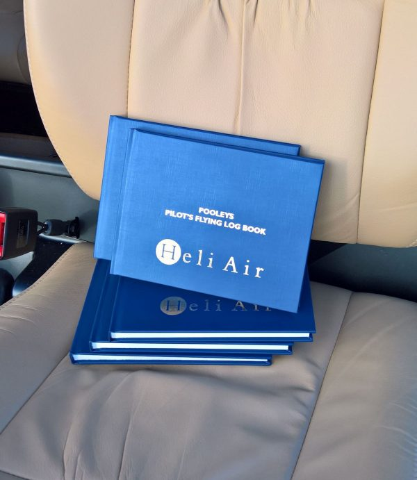 Gift helicopter pilot logbook
