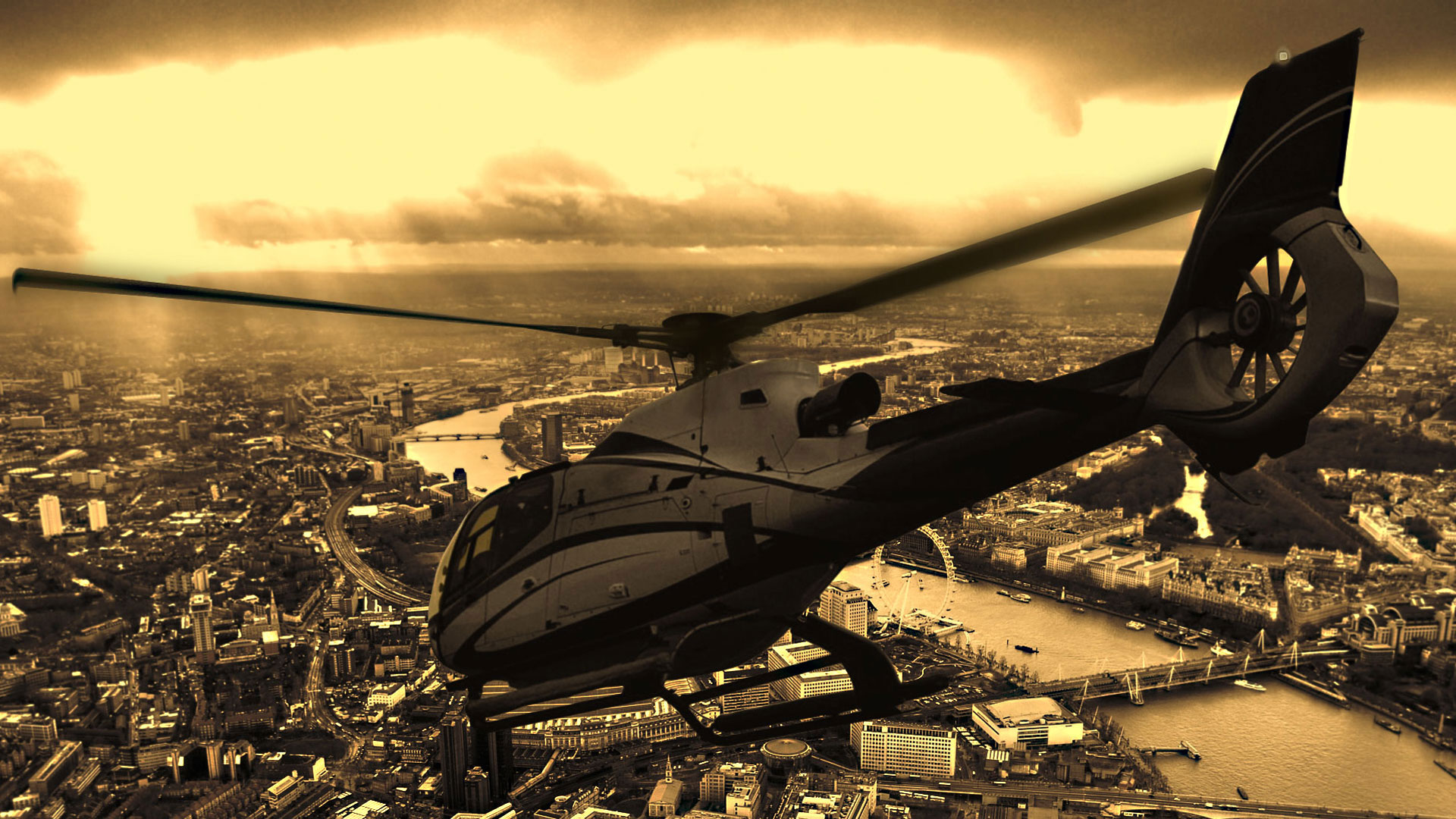 Helicopter Charter, Hire, Flying trips and Helicopter Rental