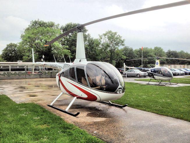 Used Robinson R66 Sales