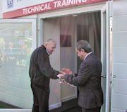 Rolls Royce RR300 Engineer Training School Opening by Frank Robinson sm