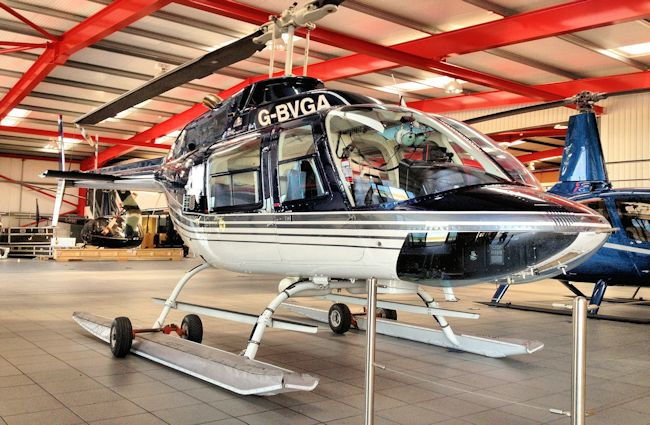 Used 1980 Bell 206 BIII Jet Ranger For Sale - UK Wide