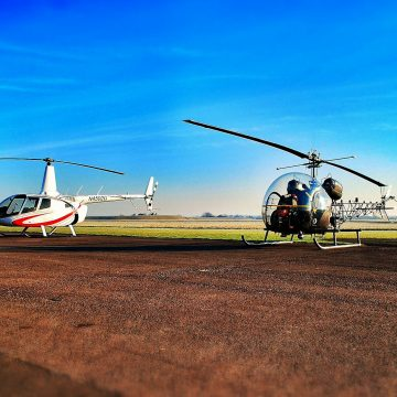 Heli Air Thruxton helicopter lessons, training, experiences, tours a