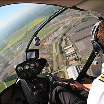 Silverstone Helicopter Rides