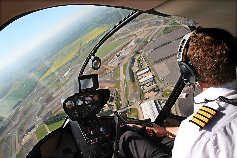 Scenic Silverstone Helicopter Flight for 4 - Pleasure Flights, Tours ...