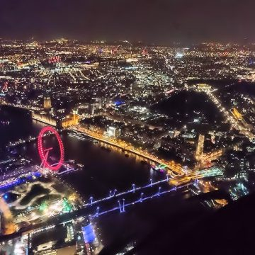 London Helicopter Night Tour, London Helicopter Rides