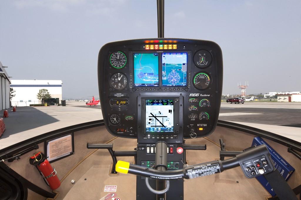 Robinson R66 HeliSAS Autopilot Garmin
