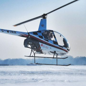 Helicopter Hover Challenge Robinson R22