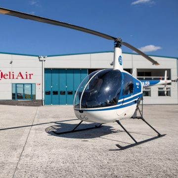 Helicopter Lessons and Training Experiences - Heli Air Flight School for Pilots - Robinson R22 Introductory Day 2