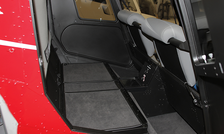 Robinson R44 Cadet - New Rear Baggage Space