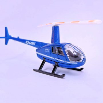 Mini helicopter toy gift - Robinson R44 Raven II