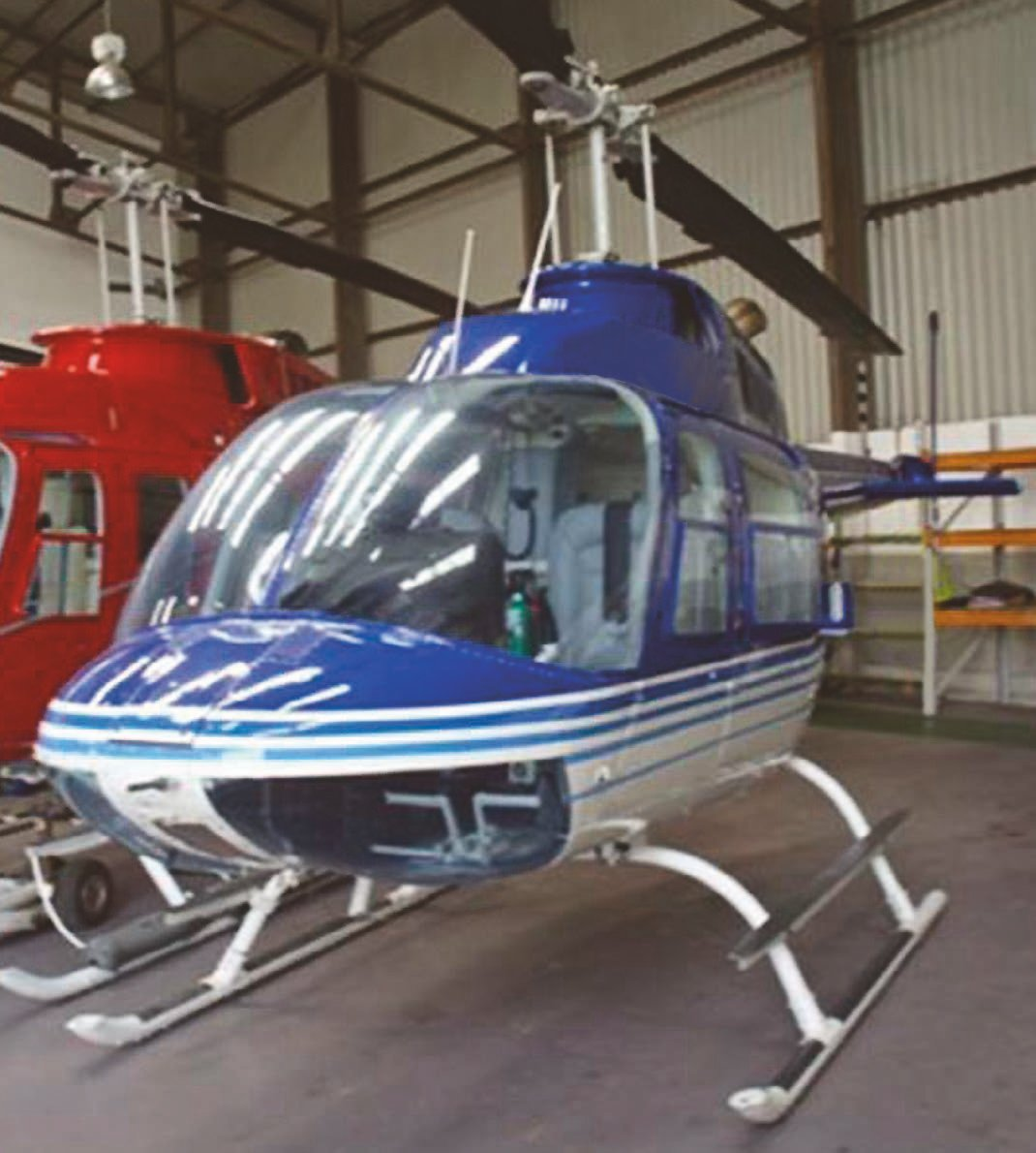 Agusta Bell AB206 Jet Ranger II Helicopter For Sale 1975