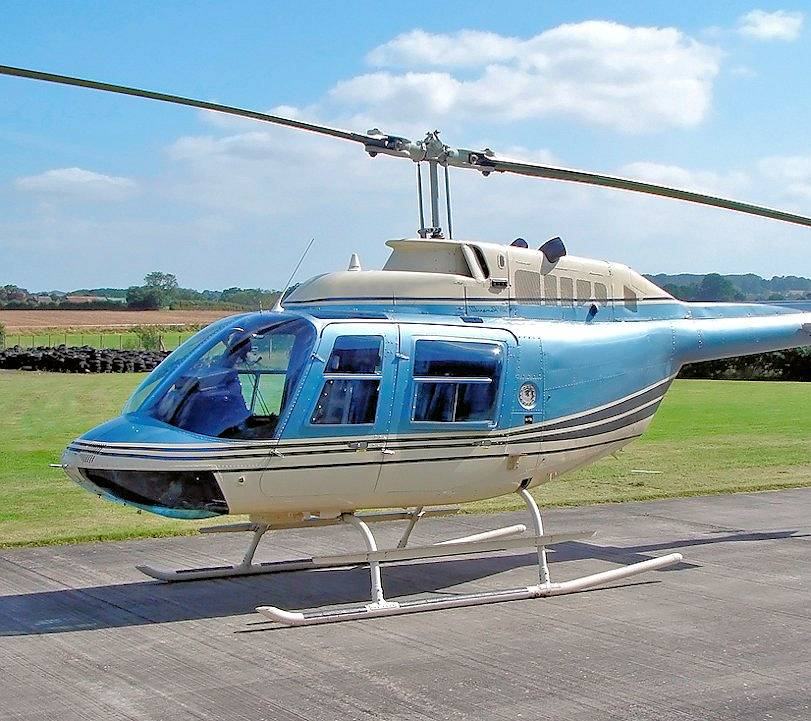 Used Bell 206 BIII Jet Ranger 1987 For Sale - UK Wide