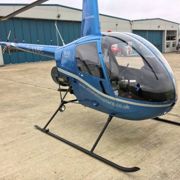 Used Robinson R22 Beta I 1988 Hull helicopter for sale - Exterior