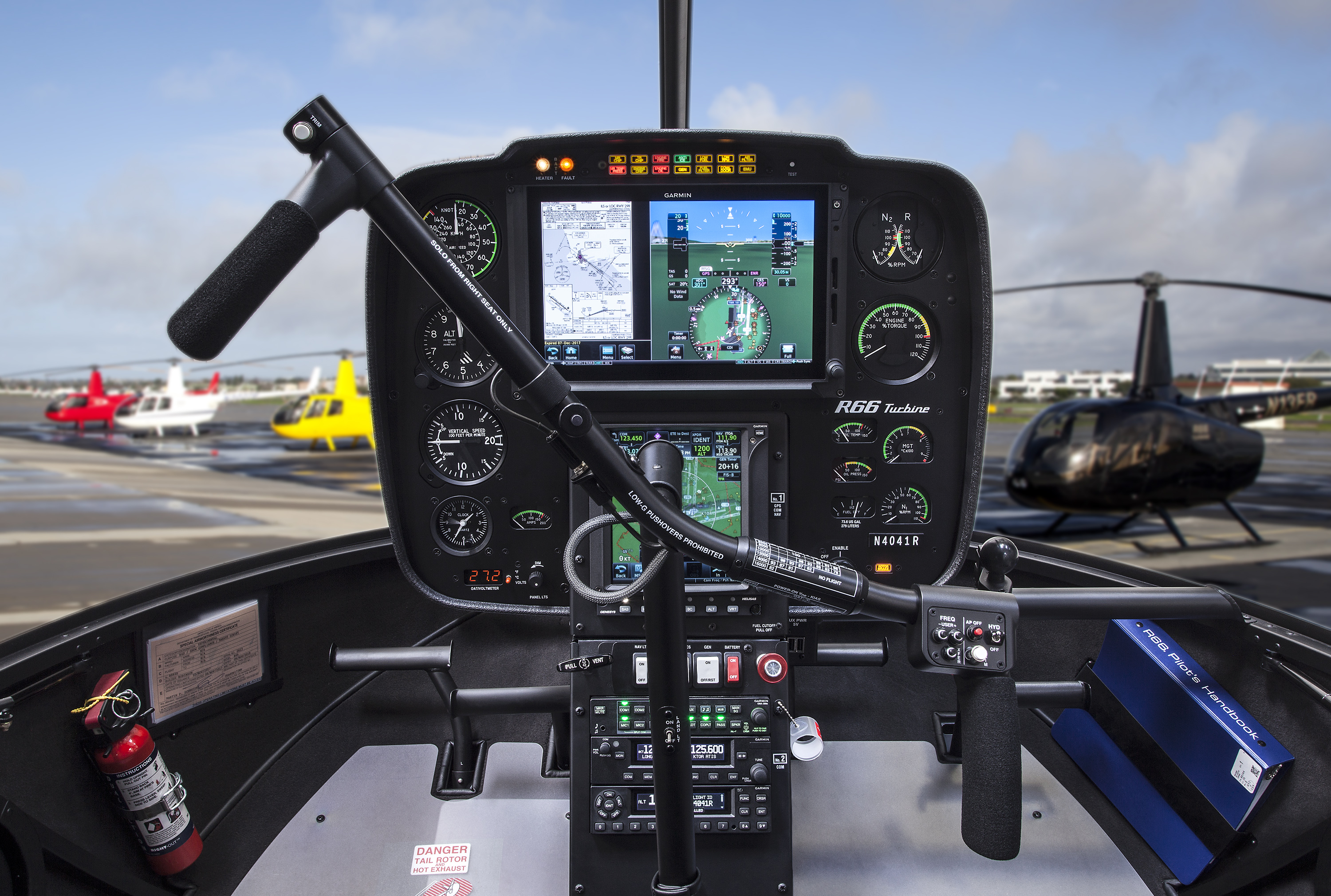Robinson Introduces Two Garmin G500H TXi Displays