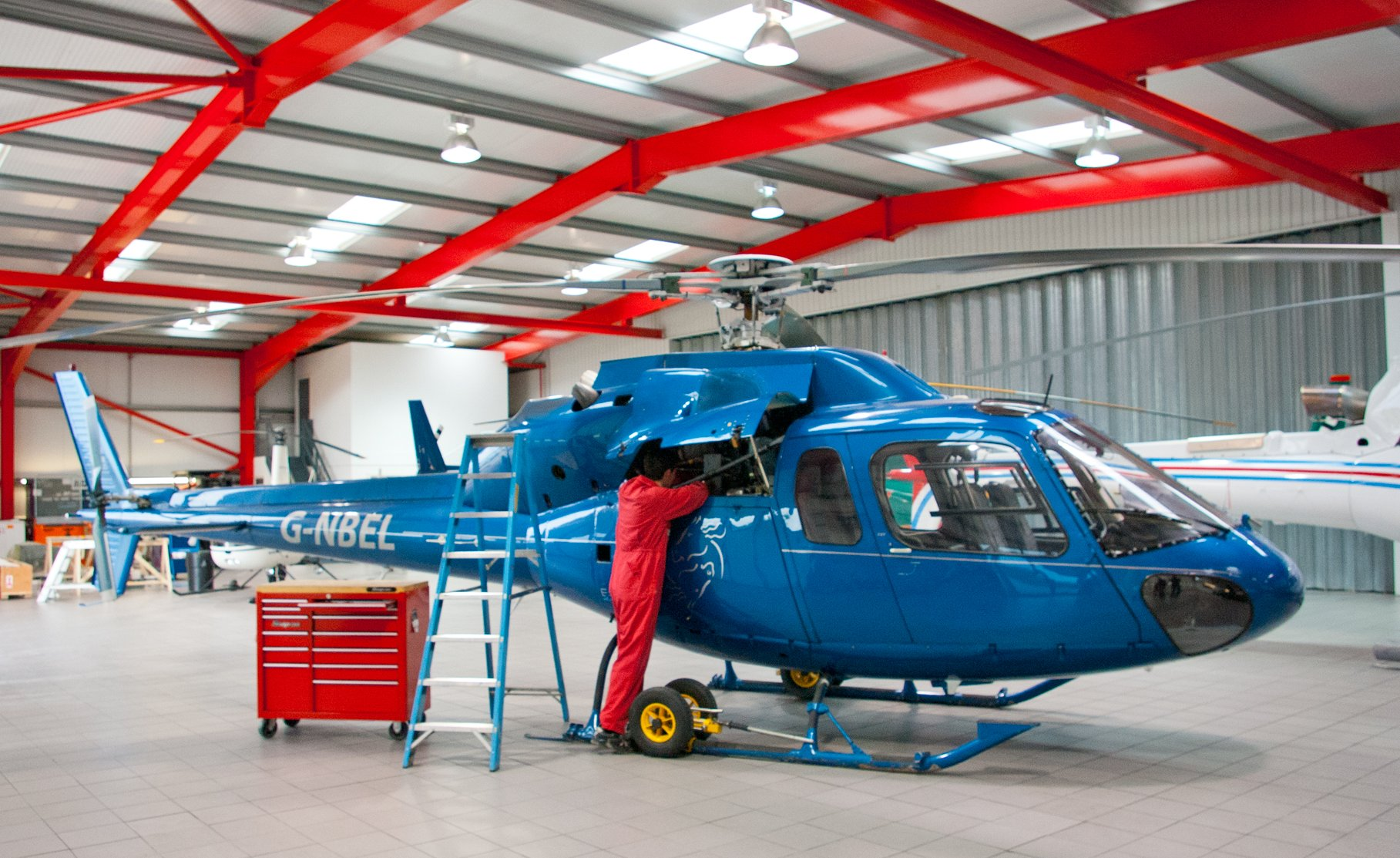 Helicopter Maintenance Career Training