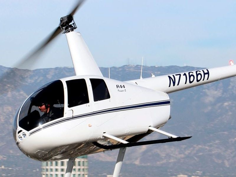 Robinson R44 Helicopter Charter, VIP Transfers and Helicopter Hire