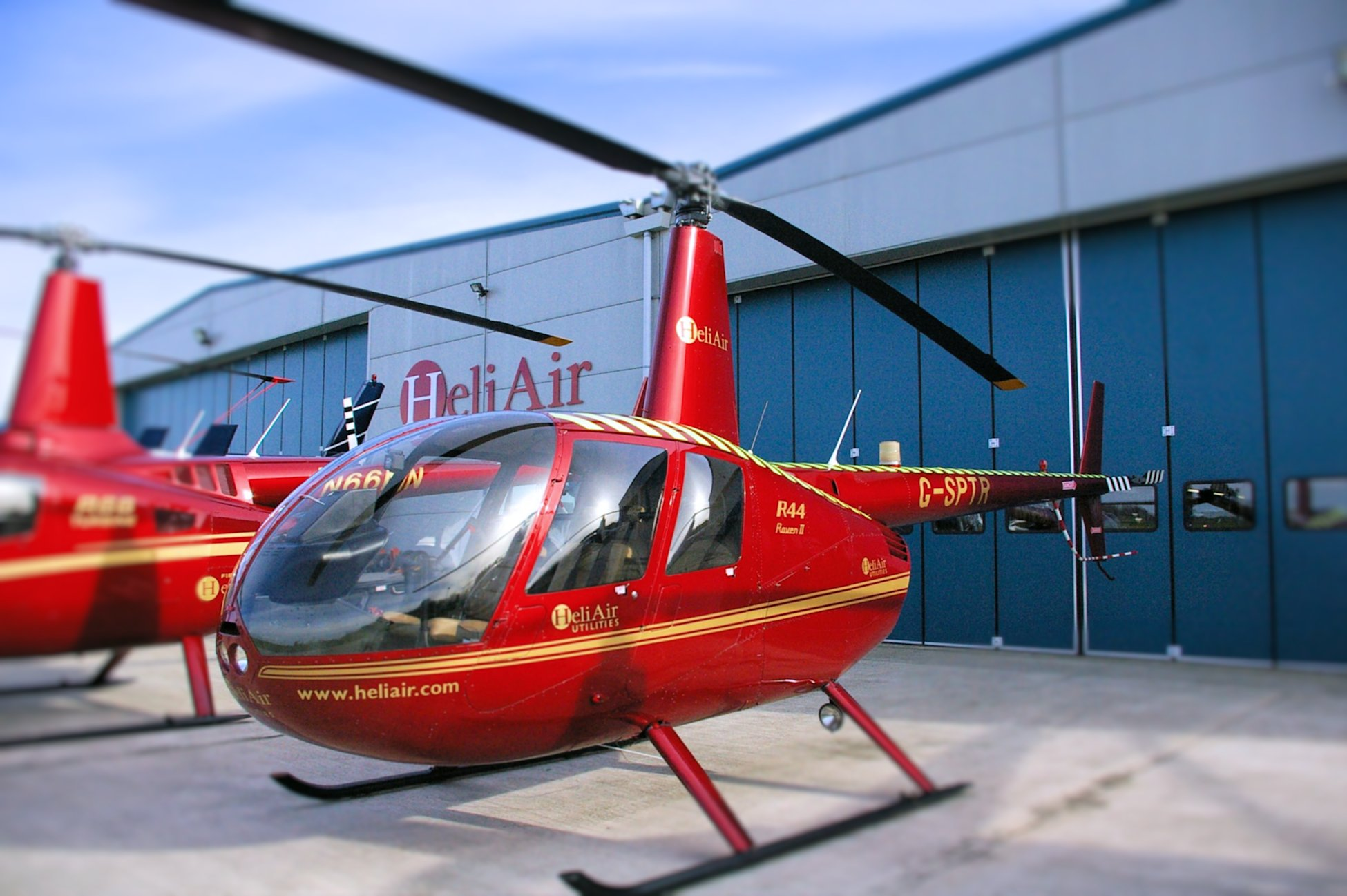Buy new Robinson R44 Raven II Clipper II or Cadet with Heli Air UK 1950