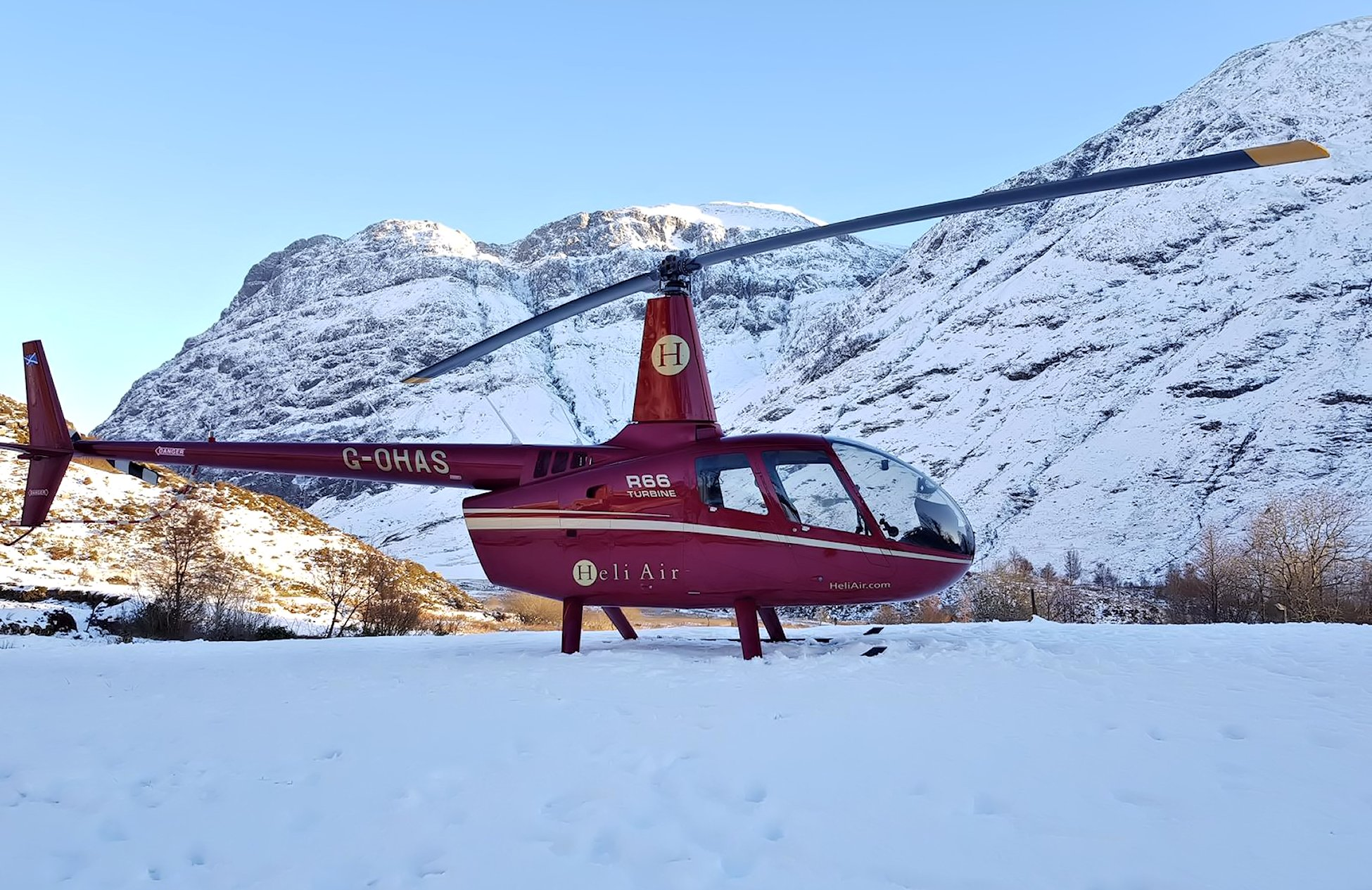 Helicopter Sales, Charter, Training, Lessons, Maintenance near London