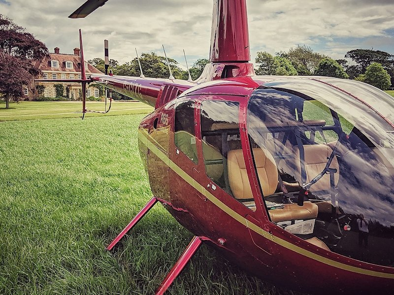 Hire a Helicopter, SFH, PPL(H) Private Helicopter Hire